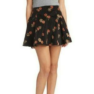 Free People NWT Good Day Sunshine Corduroy Skirt